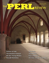 The Perl Review Volume 4 Issue 3